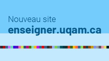 Nouveau site enseigner.uqam.ca